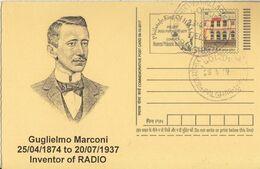 India  2017  Gugliemo Marconi  Inventor Of Radio  Postcard #  27490 D Indien Inde India - Zonder Classificatie