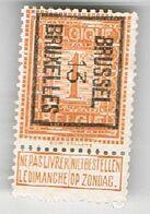 Brussel 1913 - Préoblitérés