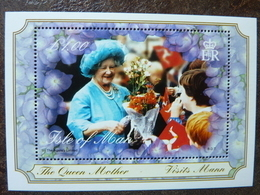 2000  Queen Mother Visits Mann  ** MNH - Isle Of Man