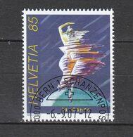 Schweiz Gestempelt  2017 Tanzen - Used Stamps