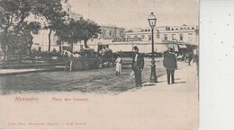 ALEXANDRIE  -  Place Des Consuls  - - Alexandrie