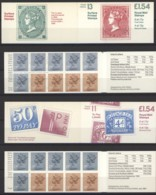 C1140 BI = C 1140 B II Postal History 11/13 Grande Bretagne 1984 Les Deux - Booklets