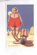 CPA HUMOUR ILLUSTREE EMEYRAC,  CHIC UN PETIT NUAGE.. - Andere Zeichner