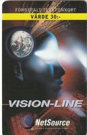 SUECIA. Vision Line 30 - XV. 10000 Ex. 2000-06-30. Nº443. SE-NET-VIS-0001O. (577) - Schweden