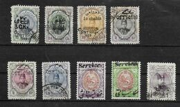IRAN   Lot N° 510  Oblitere  SURCHARGE Shah Ahmed - Iran