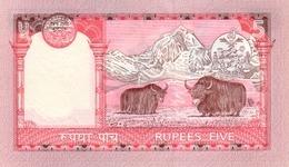 NEPAL P. 46 5 R 2002 UNC (2 Billets) - Nepal
