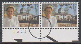 2706 - Koningin Paola - La Reine Paola  - Perszegels In Paar Met Plaat Nr 2 - 1991-2000
