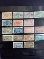 SAINT PIERRE Et MIQUELON. 1909-28.N° 78 à 116.  17 Timbres (  10 Neufs + 7 Oblitérés). Côte Yvert 25,70 € - St.Pedro Y Miquelon