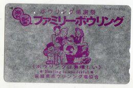 TELECARTE JAPON BOWLING - Sport