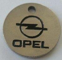 Jeton De Caddie - Automobiles - OPEL - Brie Et Champagne - MELUN (77) - En Métal - - Trolley Token/Shopping Trolley Chip
