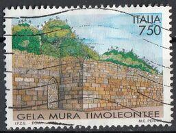 Italia 1997 Uf. 2308 Mura Archeologiche Timoliontee Di Gela - Viaggiato Used Italy - 1991-00: Usati
