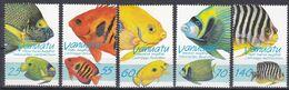 Tr_ Vanuatu 1997 - Mi.Nr. 1047 - 1051 - Postfrisch MNH - Tiere Animals Fische Animals - Marine Life