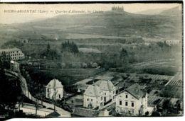 N°2814 R -cpa Bourg Argental -quartier D'Almandet, Les Chalets- - Belmont De La Loire