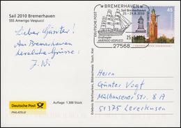 Sail 2010 SSS Amerigo Vespucci, Auflage 1300! SSt Bremerhaven Großsegler 25.8.10 - [7] República Federal