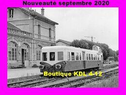 AL 649 - Autorail Picasso En Gare De CRECY-LA-CHAPELLE - Seine Et Marne - SNCF - Frankreich