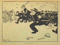 CPA - Politique > Satiriques > Illustrateur Signé : H.P. Gassier - Je Fais La Guerre - TBE - Satirical