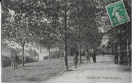 OLARGUES : Avenue De La Gare Animée  (1915) - Other Municipalities