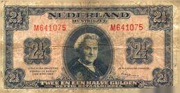Tapp 1) Billet  > Pays-Bas > 18/05/1945 / 2 1/2 Gulden - [2] 1815-… : Koninkrijk Der Verenigde Nederlanden