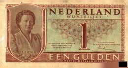 Tapp 1) Billet  > Pays-Bas > 18/05/1945 / 1 Gulden - [2] 1815-… : Koninkrijk Der Verenigde Nederlanden