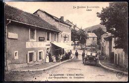 LA BASTIDE - L'hôtel Martin Très Animée ,  Voyagée 1914 Bon état - Otros Municipios
