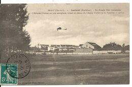 LORIENT. CHAMP D' AVIATION DU FAOUEDIC. R. GARROS SUR SON AEROPLANE - Lorient