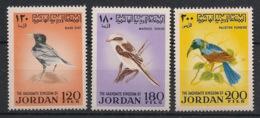 Jordan - 1970 - N°Yv. 675 à 677 - Oiseaux / Birds - Neuf Luxe ** / MNH / Postfrisch - Sin Clasificación