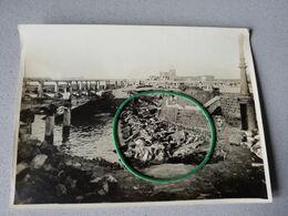 Ostende  Nieuport Blankenberghe  Moere Zeebrugge A Identifier Photo Originale Armee Belge - Non Classificati