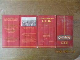 VILLEPARISIS ETS L.C.H. LORILLEUX, CLARK, HARTOG  LES LAQUES CELLULORY LES MEILLEURES LAQUES CELLULOSIQUES PARIS 31 RUE - 1900 – 1949