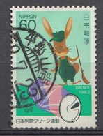 Japon 1983  Mi.nr. 1551  Kampagne Zur ....  Oblitérés / Used / Gestempeld - 1926-89 Emperador Hirohito (Era Showa)