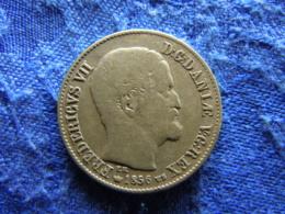 DENMARK 16 SKILLING 1856, KM765 - Denmark
