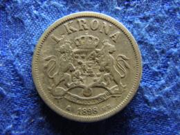 SWEDEN 1 KRONA 1898, KM760 - Sweden