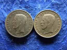 SWEDEN 1 KRONA 1925, 1929, KM786.2 - Sweden