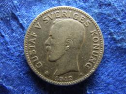 SWEDEN 2 KRONOR 1912, KM787 - Sweden