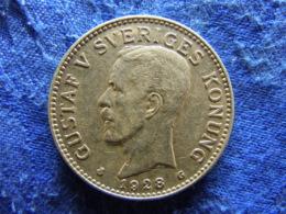 SWEDEN 2 KRONOR 1928, KM787 - Sweden