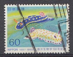 Japon 1987  Mi.nr. 1733  Meeresbiologie  Oblitérés / Used / Gestempeld - 1926-89 Emperador Hirohito (Era Showa)
