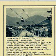 Carte Illustrée Neuve N° 411. - 48/37 - A-6235 REITH Im Alpbachtal, Tiril, 643 M. (Télésiège) - Entiers Postaux
