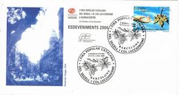 37462. Carta BARCELONA 2004. Fira Del Segell A BARNACENTRE - 1931-Aujourd'hui: II. République - ....Juan Carlos I