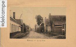 RONSSOY : La Rue Verte,animée. édit Corbeaux-Lefebvre. - Ohne Zuordnung