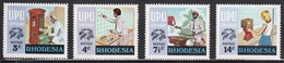 Rhodesia 1974 Complete Set Of Stamps To Celebrate Centenary Of The UPU In Unmounted Mint Condition. - Rhodesië (1964-1980)