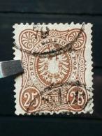 Deutsche Reich Mi-Nr. 35 B Gestempelt KW 110€ Geprüft - Gebraucht