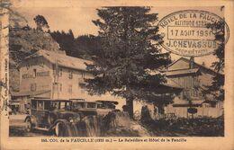 CPA COL De La FAUCILLE (1323 M) - Le Belvédère Et Hôtel De La Faucille - Gex
