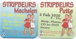 #D243-192 Viltje Over Mechelen - Putte - Suske En Wiske - Portavasos
