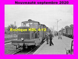 AL 665 - Train, Locotracteur CFD En Gare - RANG-DU-FLIERS - Pas De Calais - VFIL - Otros Municipios