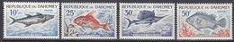 Dahomey 1965  - Mi.Nr. 258 - 261 - Postfrisch MNH - Tiere Animals Fische Fishes - Vissen
