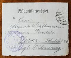 Feldpostkartenbrief Strafgefangenen-Arbeiter Batl. Nr. 2, 25.2.18 - Brieven En Documenten