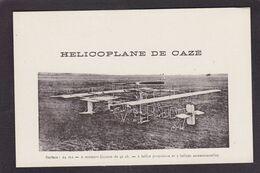 CPA Aviation Hélicoptère Hélicoplane De Caze Non Circulé - 1914-1918: 1a Guerra