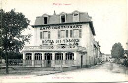 N°2837 R -cpa Vittel -l'hôtel Des Vosges- - Hotels & Gaststätten