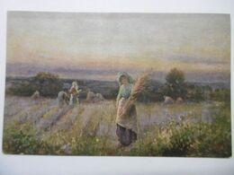 """Art Peintures & Tableaux """"Les Glaneuses"""" Paysage Anglais, Edition De La Chocolaterie D'Aiguebelle - Malerei & Gemälde"""