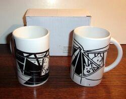 Lot De 2 Mugs Tintin - Hachette - Tazze
