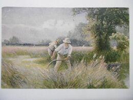 """Art Peintures & Tableaux """"Les Moissonneurs"""" Paysage Anglais, Edition De La Chocolaterie D'Aiguebelle - Malerei & Gemälde"""